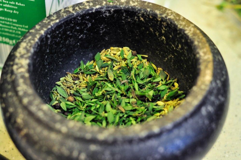 Fennel Black Pepper Garlic Paste