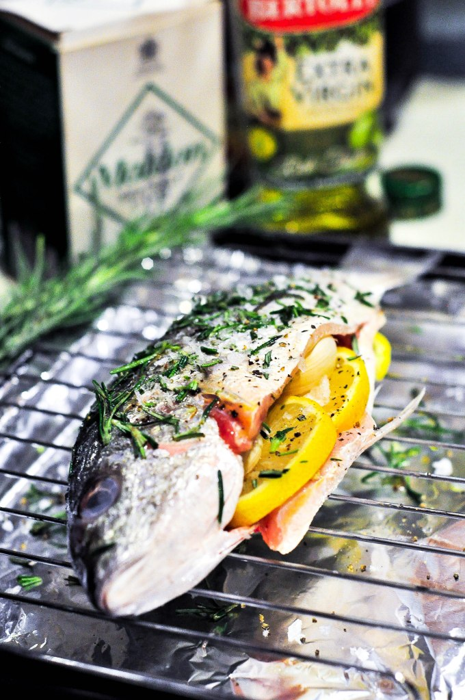 Baked Barramundi with Rosemary and Lemon (1 of 3)