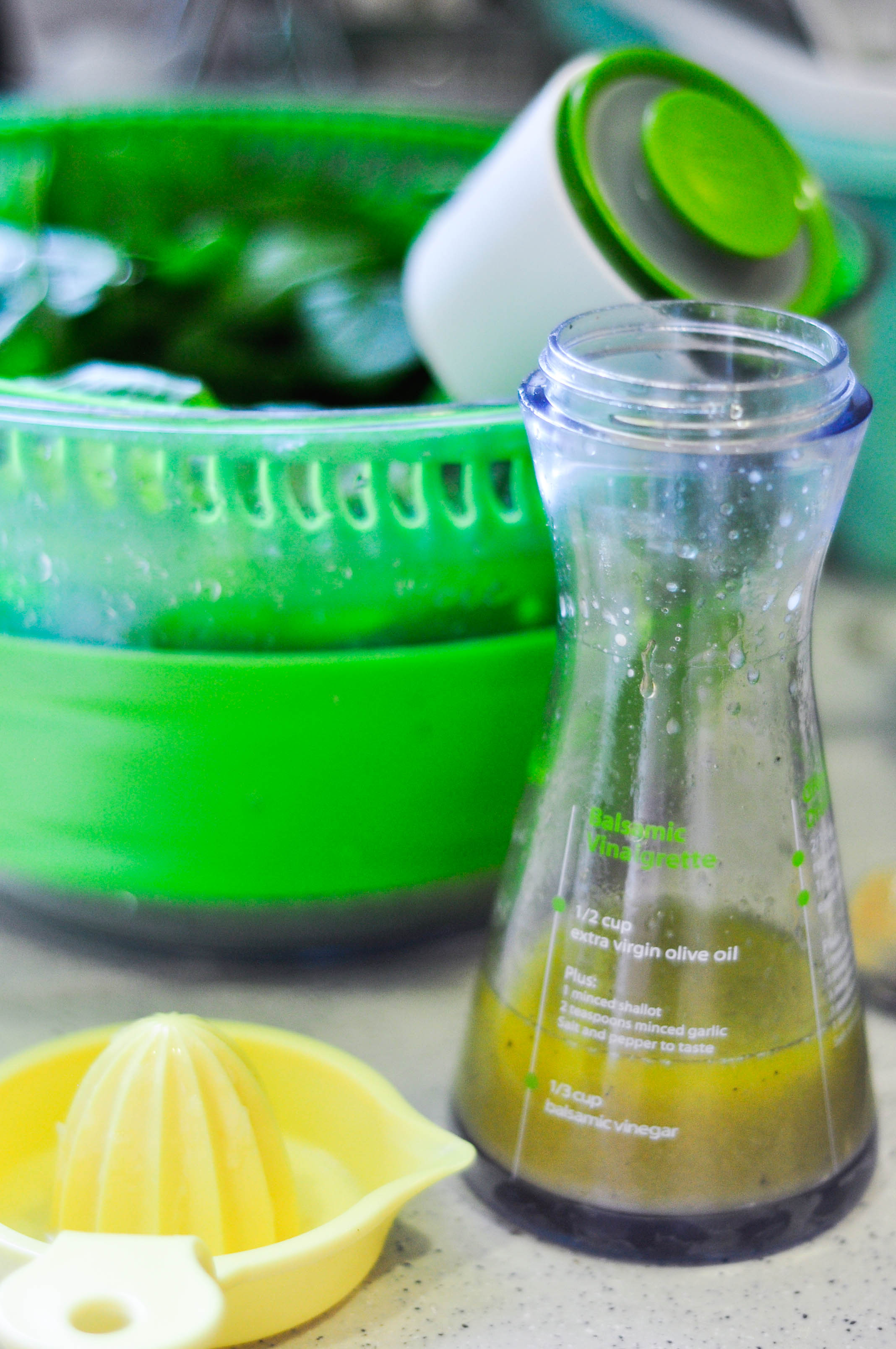 Lemon Honey Dijon Vinaigrette | kitchenmess