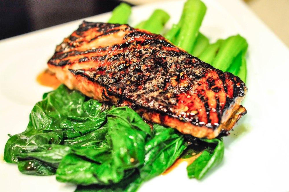 Soy-glazed salmon (13 of 13)