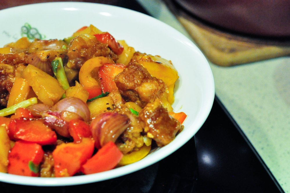 Sweet and Sour Pork (Air Fryer version) (20 of 24)