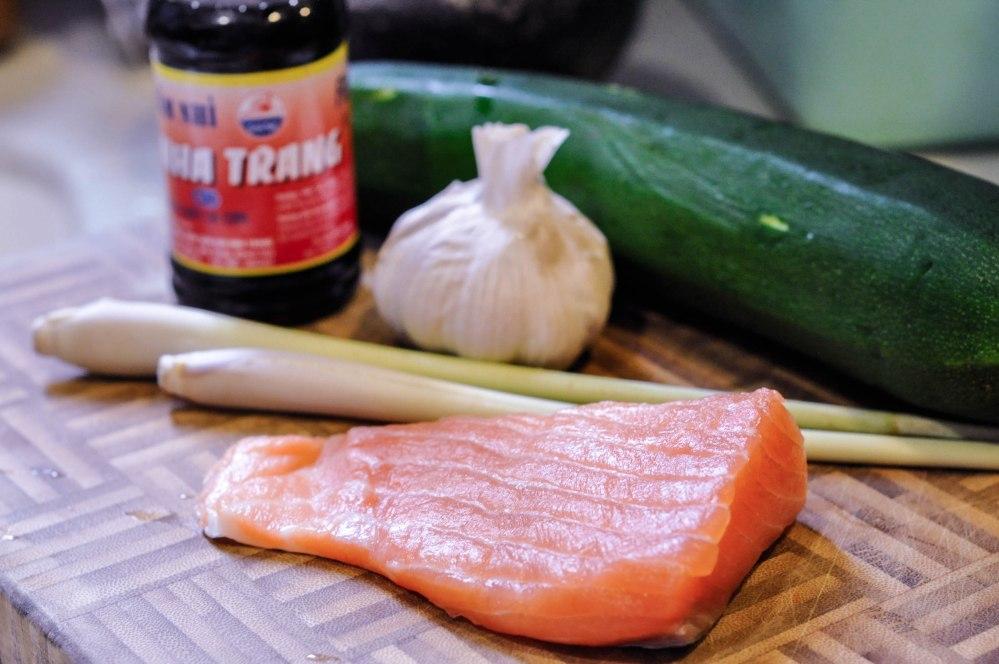 Pan-seared Lemongrass Garlic Salmon (15 of 15)