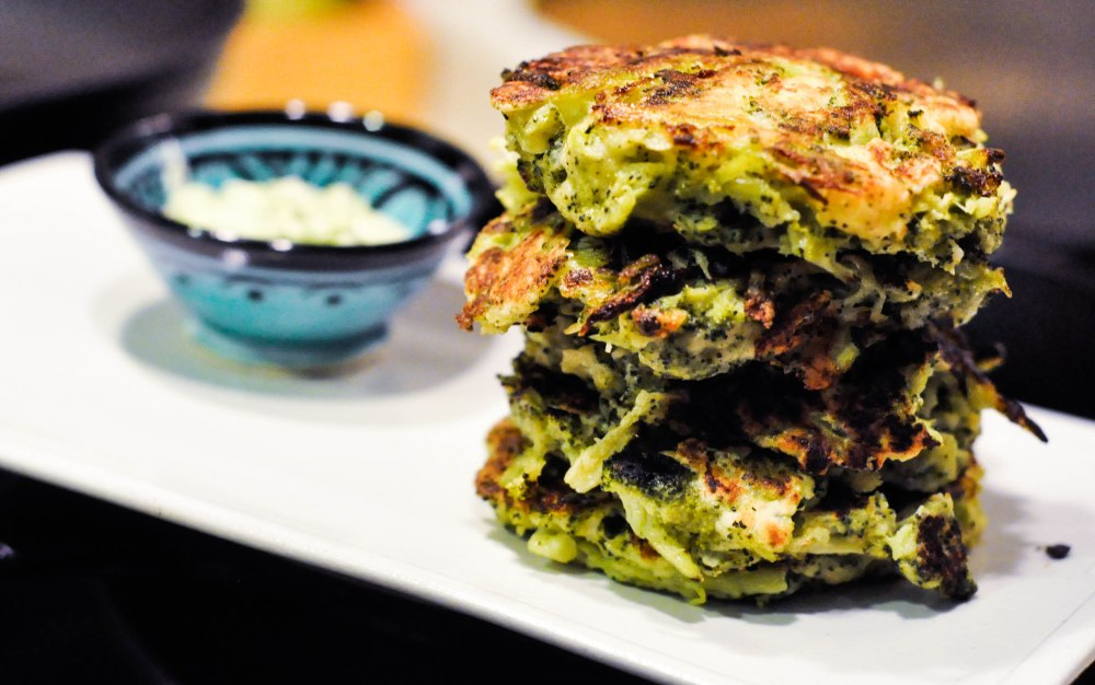 Broccoli Fritters (1 of 1)