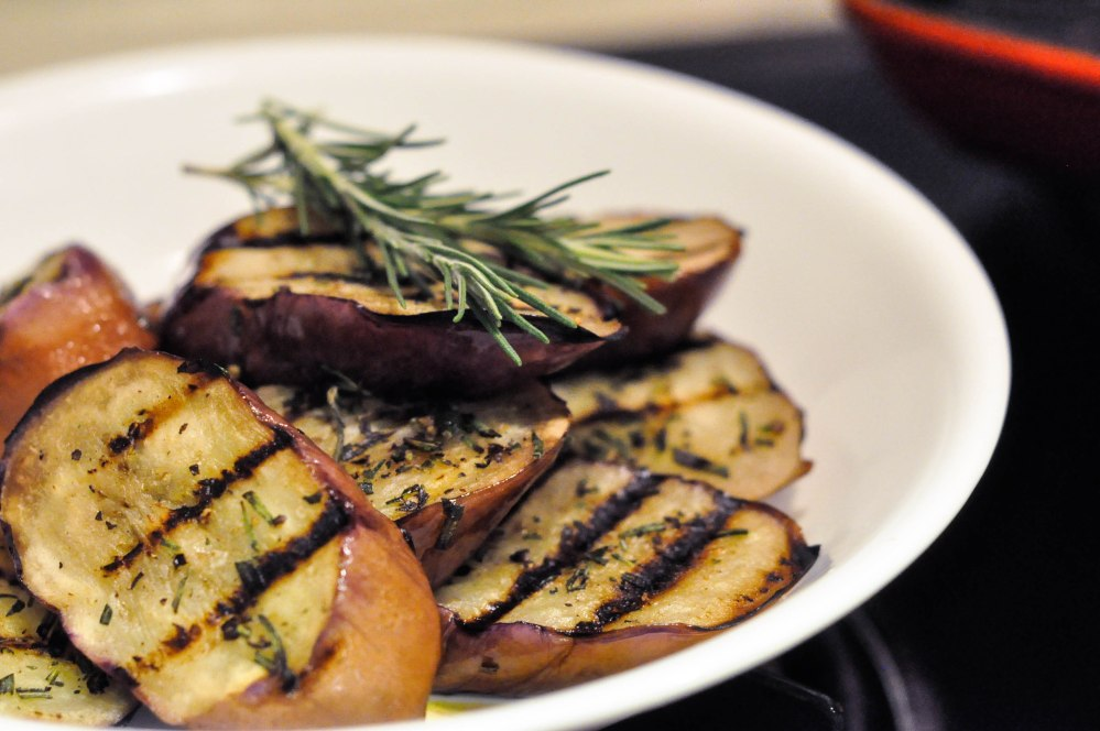 Grilled Rosemary Lamb Chops with Eggplant Side (7 of 13)