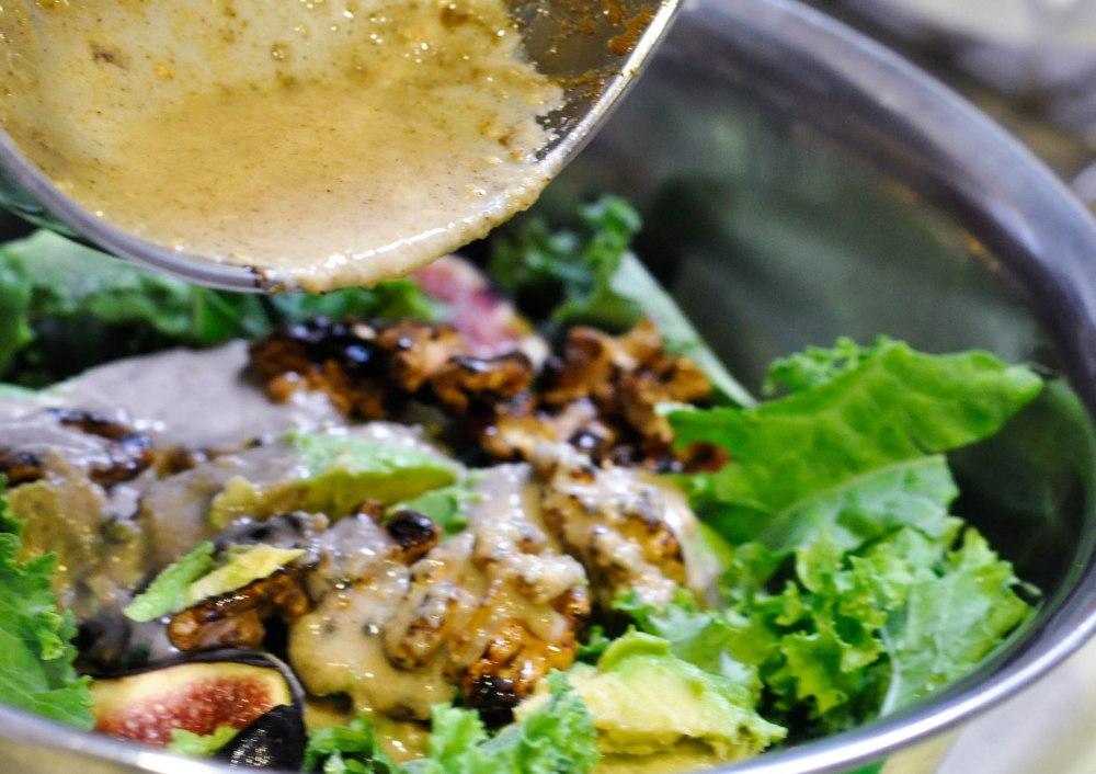 Tahini dressed kale salad (6 of 27)