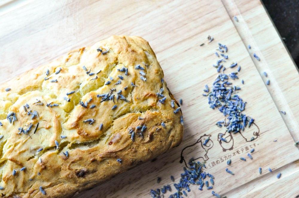 Lavender Infused Banana Yoghurt Bread (25 of 42)