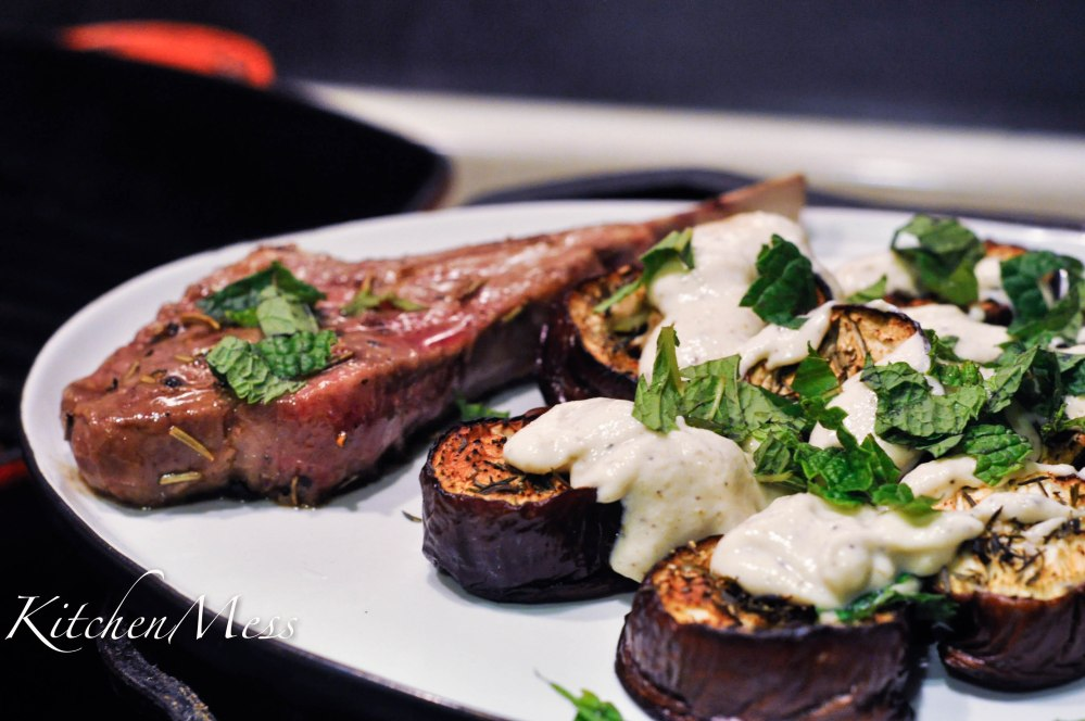 Baked Aubergines with Tahini Buttermilk Dressing (2 of 24)