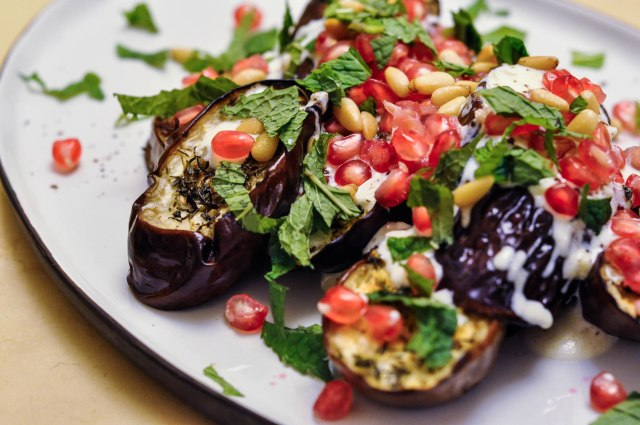 Ottolenghi's Grilled Aubergine with Buttermilk Dressing (3 of 18)