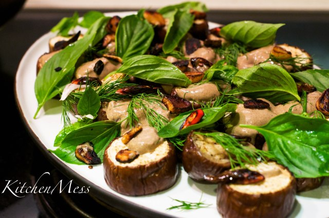 Aubergines with Black Garlic Sauce (3 of 25)