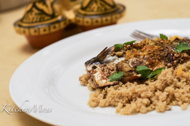 Citrus baked mackerel with couscous (1 of 1)-2