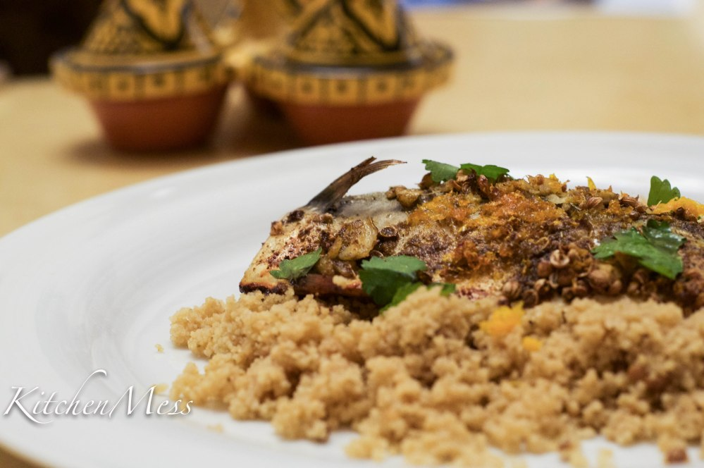 Citrus baked mackerel with couscous (3 of 3)