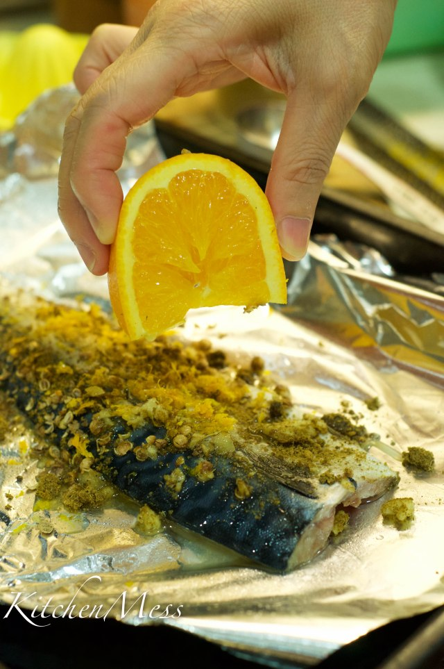 Citrus baked mackerel with couscous (5 of 17)