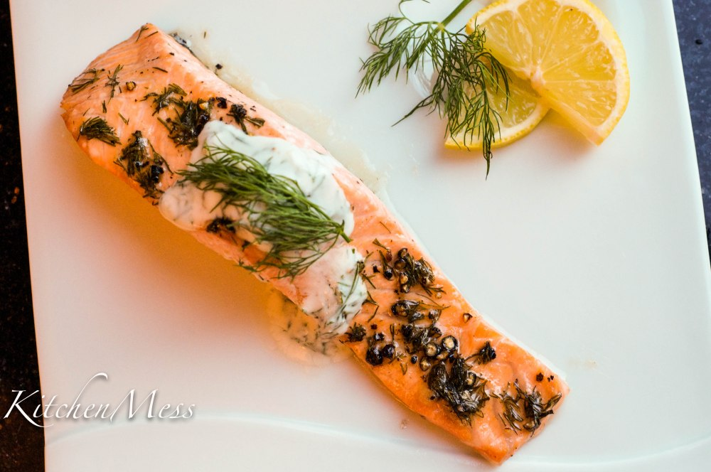 Oven Baked Salmon with Yoghurt Dill Sauce (16 of 18)