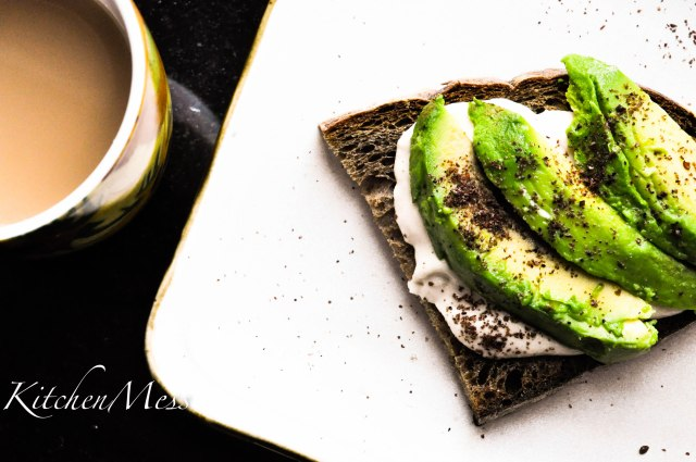 Sourdough Toast with Tahini Spread and Avocado (2 of 8)