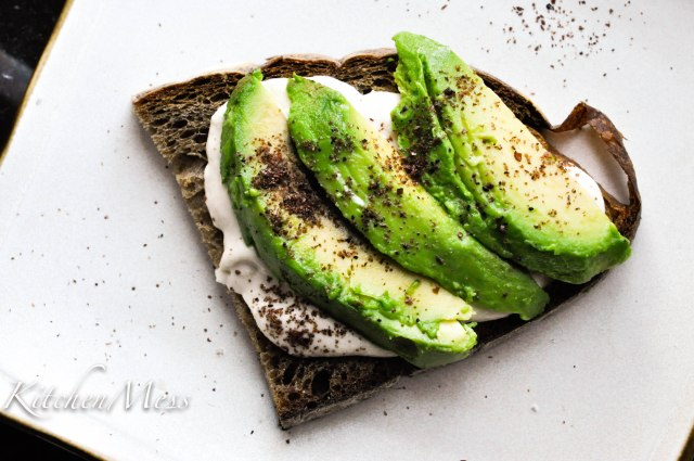 Sourdough Toast with Tahini Spread and Avocado (4 of 8)