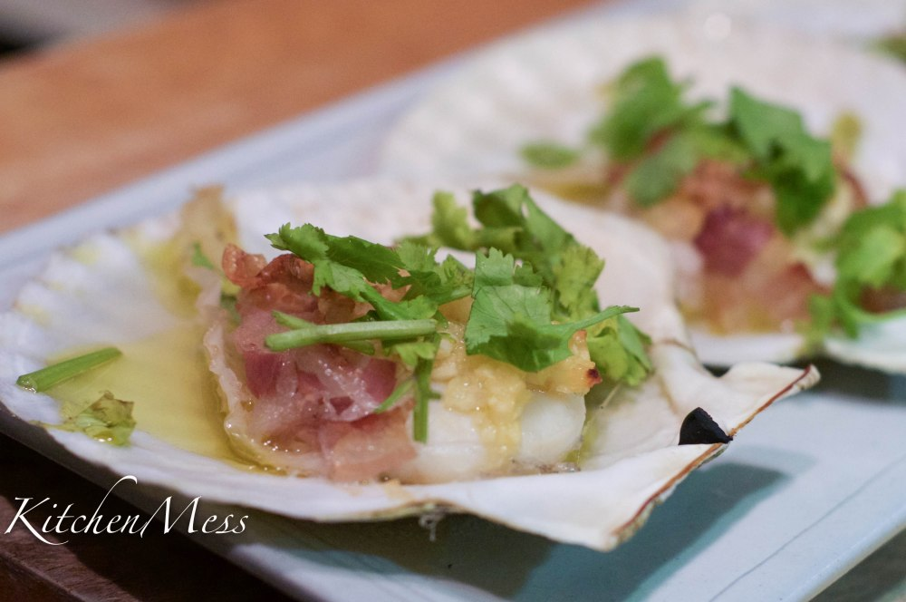 Proscuitto Baked Scallops with Garlic and White Wine (9 of 10)