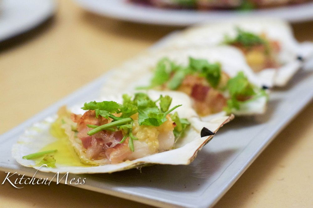 Baked Scallops with Pancetta and White Wine (1 of 1)