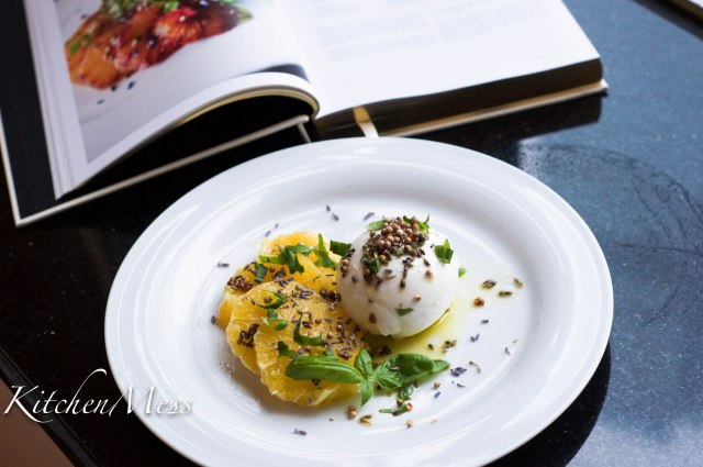 Burrata with Oranges, Coriander Seeds, and Lavender Oil (21 of 25)