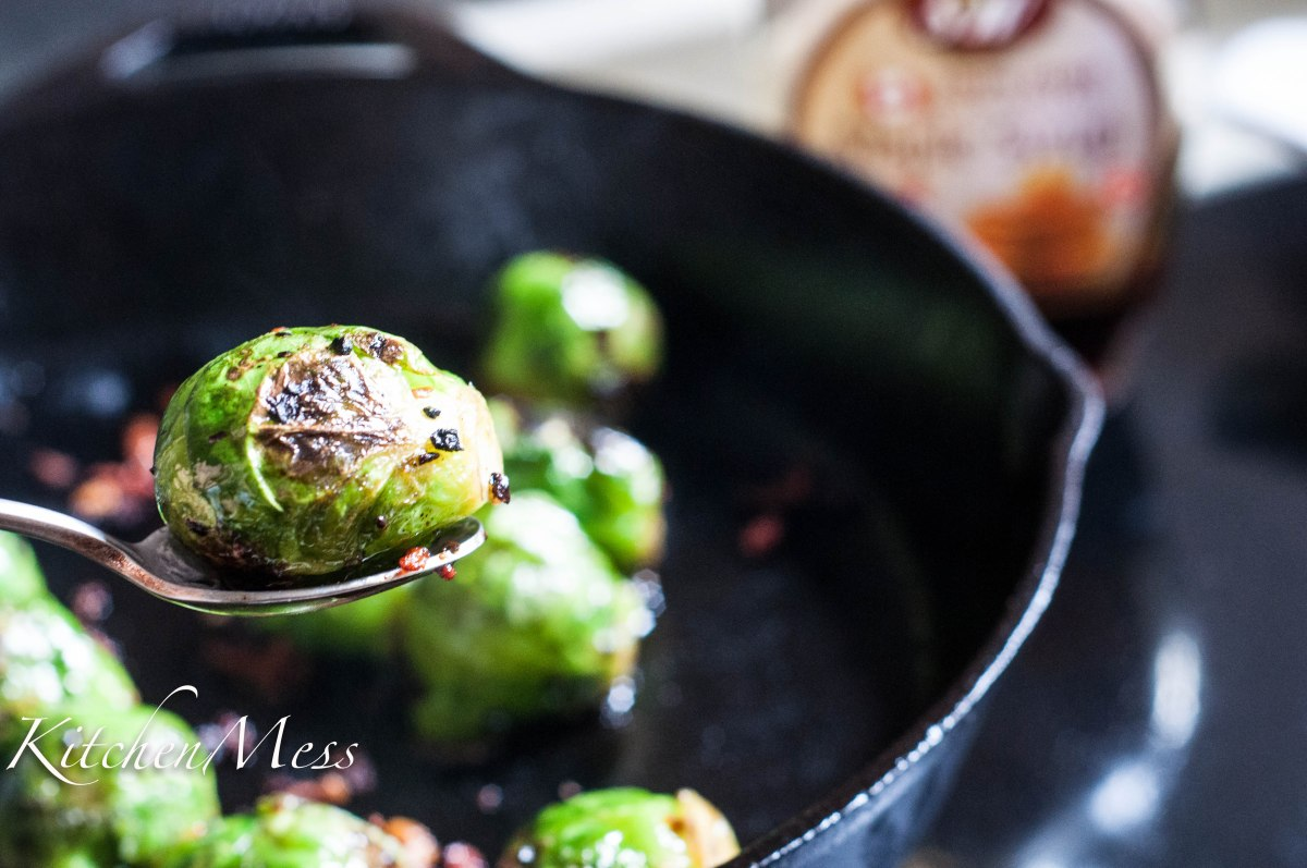 Maple Brussels Sprouts With Pancetta
